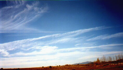 Early Stages of Cirrus Formation Santa Fe