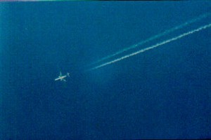 normal contrails picture B1